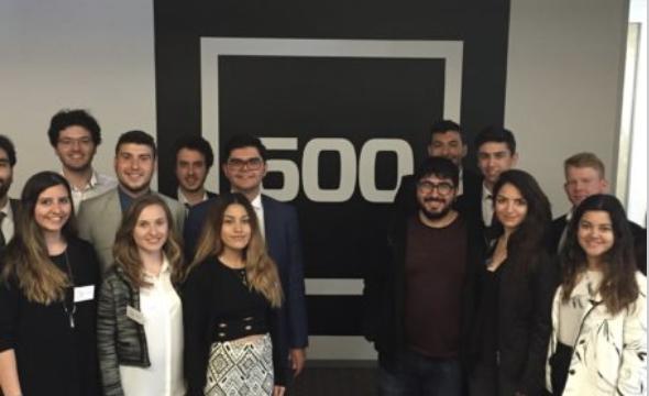 San Francisco – Selçuk  Atlı 500 Startups